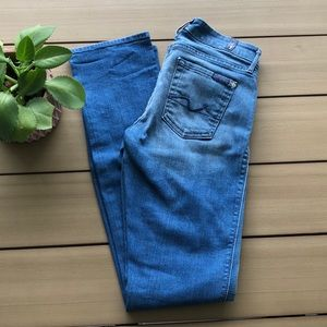 Euc 7 for all mankind Kimmie straight leg jeans